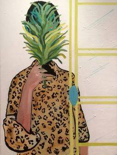 "Saatchi Art Artist Erin Armstrong; Painting, ""Behind the French door"" #art"