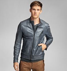 Buy Belstaff Men's Blue K Racer Jacket, starting at $1214. Similar products also available. SALE now on!