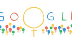 Google Doodle gets it right for International Women's Day