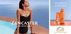 Image result for lancaster products advert Spa Logo, Strapless Dress Formal, Formal Dresses, Golden Tan, Lancaster, Image, Beauty, Products, Fashion