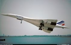 """Concorde: """"It is not unreasonable to look upon Concorde as a miracle."""" Chief Test Pilot: Brian Trubshaw. (1967)"""