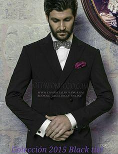 Colección #Gentleman etiqueta Blacktie #Tuxedo #Smoking Dinner Jacket FRACK online www.comercialmoyano.com MadeinItaly WWW.OTTAVIONUCCIO.COM Bespoke Excelencia #Bodas2015