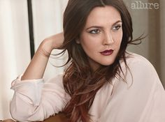 Allure January 2013 : Drew Barrymore by Carter Smith