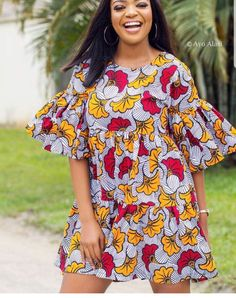 WOW womenss african fashion really are beautiful Image# 3178 Short African Dresses, Ankara Short Gown Styles, Short Gowns, African Print Dresses, African Fashion Ankara, Latest African Fashion Dresses, African Print Fashion, Moda Afro, African Traditional Dresses