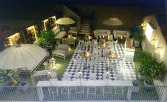 Diseño de terraza de hotel en Sevilla. Diseño dk-interior. www.decoraciondeinterioresdecoc.com