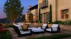 Eclairage extérieur terrasse pour plus de convivialité