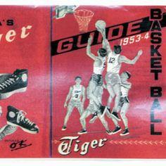 Onitsuka Tiger Basketball catalogue from 1953