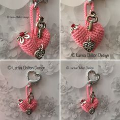 Irish Crochet Lab is a detailed online course of how to make Irish Crochet Lace. Irish Crochet, Crochet Lace, Heart Bubbles, Crochet Keychain, Irish Lace, Learn To Crochet, Crafty, Personalized Items, Key Chain
