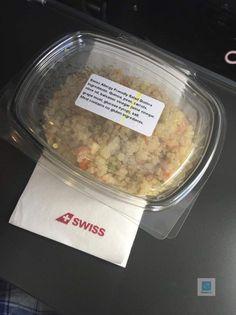 Mein glutenfreier Quinoa Salat in der Swiss