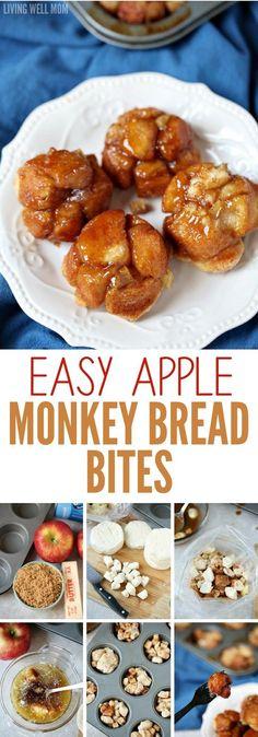 Easy Apple Monkey Bread Bites
