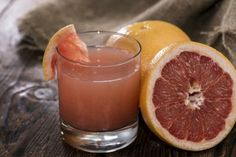 Grapefruit juice boosts your vitamin C intake, because each serving has 156 percent of the daily recommended intake. Vitamin C benefits your...