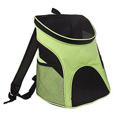 Dog Cat Pet Carriers Travel Backpacks Puppy Dog House With Mesh Window for Pet Rucksack Pet Carrier Apple Green -- To view further for this item, visit the image link. This is an Amazon Affiliate links.
