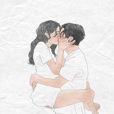 사랑의 등가교환 시바툰 시바무비 art - 2019 исскуство пара, рисунки 및 ри Cute Couple Drawings, Cute Couple Art, Anime Couples Drawings, Love Drawings, Art Drawings, Hipster Drawings, Pencil Drawings, Love Cartoon Couple, Anime Love Couple