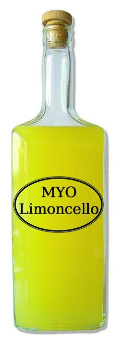 Homemade Limoncello- Originally an Italian Lemon Liqueur produced in Southern Italy, Limoncello is a smooth, vibrant flavored liquor that is great for gift giving and an occasional treat. (click on photo for recipe)