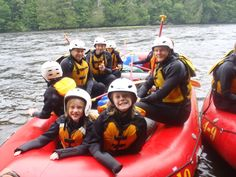 Great family trips with Northeast Whitewater!  #familyrafttrips #kidsactivities #getoutandplay