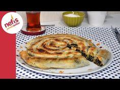 Tavada Kol Böreği Tarifi   Pratik Ispanaklı Börek - YouTube
