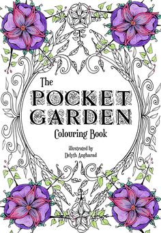 My New Colouring Book The Pocket Garden