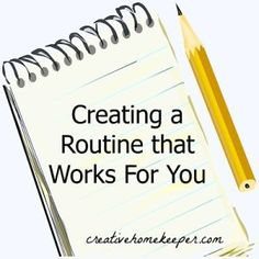 Thoughtful and practical tips to help you evaluate your current routine and to create one that works for you.