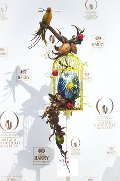 @Facebook/World Chocolate Masters Chocolate Work, Divine Chocolate, Chocolate Gifts, Chocolate Recipes, Chocolate Showpiece, Food Sculpture, Chocolate Sculptures, Desert Art, Pastry Art