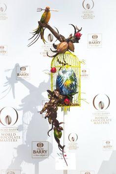 @Facebook/World Chocolate Masters Chocolate Work, Divine Chocolate, Chocolate Gifts, Chocolate Recipes, Chocolate Showpiece, Food Sculpture, Chocolate Sculptures, Desert Art, Sushi Art