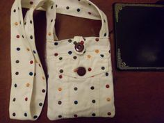 PolkaDot Purse with Front Pocket Wide by InfinitPursAbilities