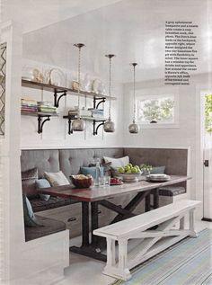 21 best corner booth kitchen table images diy ideas for home deco rh pinterest com