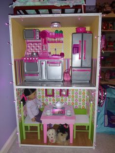 58 Best Diy Dollhouses For American Girl Doll Images American Girl