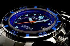 TimeZone : Dive Watches » N E W  M o d e l – Deep Blue Juggernaut II