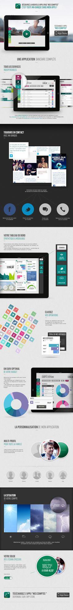 Nouvelle appli Mes Comptes BNP Paribas sur iPad : nouveau design et nouvelle interface...  A télécharger sur l'App Store : https://itunes.apple.com/fr/app/mes-comptes-bnp-paribas-pour/id374942618?mt=8  #iPad #BNPParibas