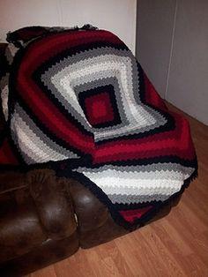 C2C Illusion Blanket ~ free pattern ᛡ