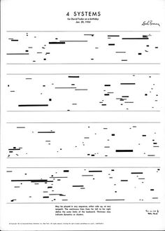 As somebody with one foot in the visual art world and the other in sound world, I have always been interested in the experimental music notation strategies. Udk Berlin, Graphic Score, Music Visualization, Experimental Music, Music Drawings, Sound Art, Fluxus, Music Score, Typography