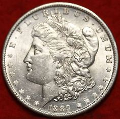 Liberty Cap- Uncirculated 1889-O New Orleans Silver Morgan Dollar