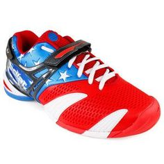 Babolat Men's Propulse 3 Stars & Stripes Tennis Shoes for $124.95. Andy Roddick is rocking them.