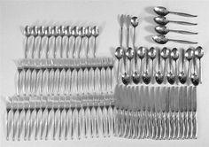 Oneida Community DRIFTWOOD 1992 Stainless Flatware - 87 Pieces #OnediaCommunity