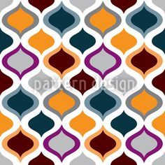 Ogee Oh / Classic Pattern Style // High-quality Vector Pattern Designs at patterndesigns.com - , designed by Natalie Singh