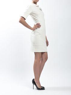 BLUGIRL   Short sleeves #dress with svarowsky detail   LIDIASHOPPING.IT   SHOP ONLINE   WORLDWIDE SHIPPING @Blugirl