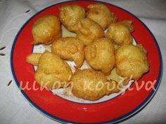 μικρή κουζίνα: Λουκουμάδες Pretzel Bites, Recipies, Deserts, Sweets, Bread, Vegetables, Ethnic Recipes, Food, Recipes