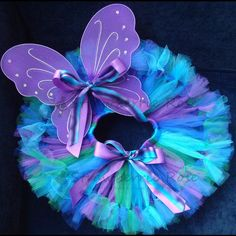 Tutu Girls Fairy Costumes Baby Fairy Costumes by StrawberrieRose, $65.00