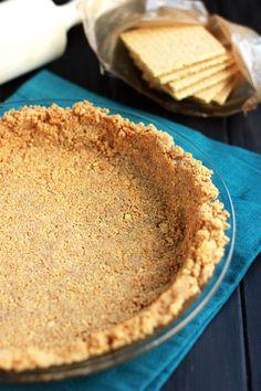 Graham Cracker Pie Crust on One Sweet Appetite