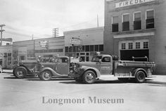 The old Longmont fire department. Now it's the Firehouse Art Center.