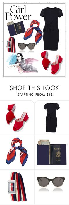 """""""Girl"""" by barbaraa-escalantee on Polyvore featuring Steve Madden, Royce Leather, Gucci and Christian Dior"""
