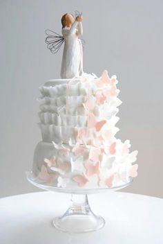 Willow Tree angel cake
