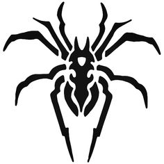 Tribal Spider Arachnid 4 Vinyl Decal Sticker BallzBeatz . com