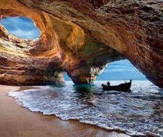 Xorino cave, Albufeira, Portugal, Europe
