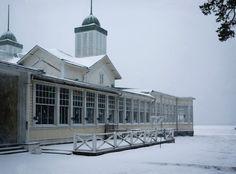 Koti kaupungin laidalla:Hanko by winter