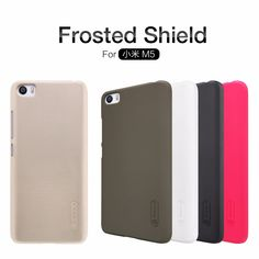 xiaomi mi5 Case xiaomi mi5 cover NILLKIN Super Frosted Shield hard back cover case with free screen protector and Retail package ** Clicking on the image will lead you to find similar product