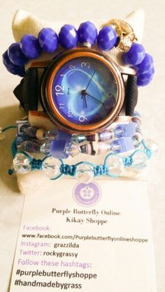 Watch Arm Candy - paperbeads