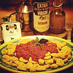 From #TheOliveOilHunters #CookBook: #homemade #pumpkin #gnocchi with a #Spicy #ingredient: @extravirginshop #greenchilli #OliveOil! #yummy #love #italianfood
