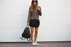 Trendy In The Moon street style trend backpack