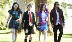 Descendientes - Disney Channel - Mal, Evie, Carlos y Jay